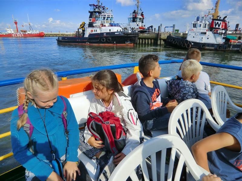 Klassenfahrt der 4. Klassen nach Cuxhaven